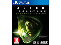 Alien Isolation Nostromo edition playstation 4