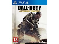 Ps4 games. Far Cry 4 and Call of duty