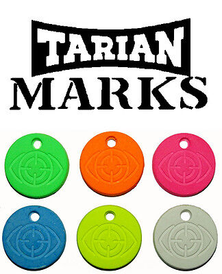 Tarian Marks Chalk Targets 600 24mm Competition Coloured Targets clay