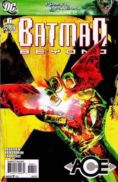 BATMAN BEYOND #6 (ongoing) New Bagged