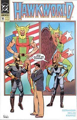 Hawkworld #10 (April 1991) - Hawkman & Hawkwoman - VF/NM