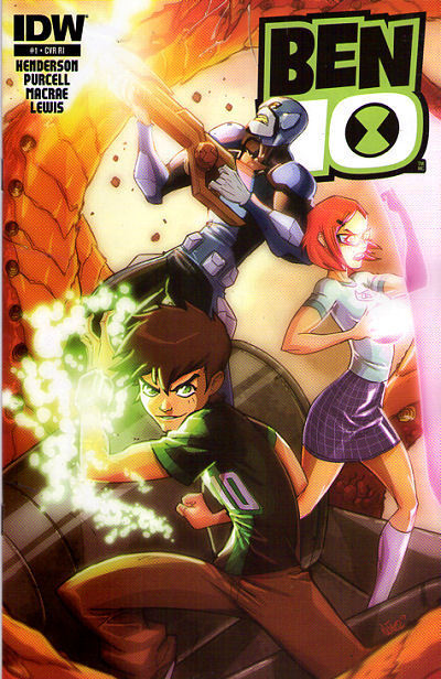 BEN 10 #1 Retailer Incentive VARIANT COVER