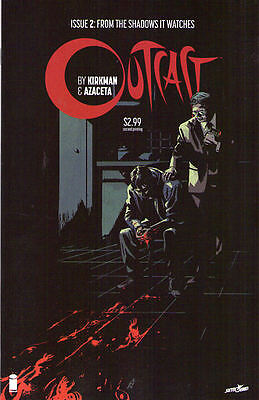OUTCAST #2 - 2nd Print - Robert Kirkman - New Bagged