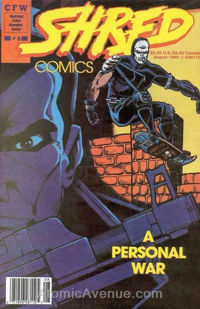 Shred #5 VG; CFW | low grade comic - save on shipping - details inside