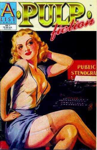 Pulp Fiction 1 Jack Kirby Will Eisner Rod Roche Bob Kane Brenda Starr GGA NM