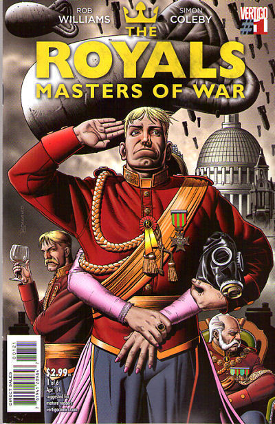ROYALS Masters of War #1 VARIANT COVER 1:13