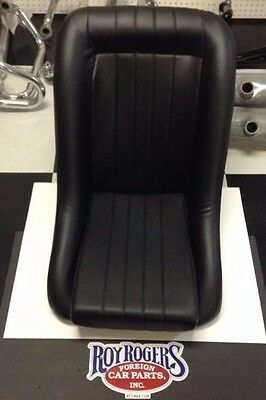 EMPI 62-2880 LOW BACK ROADSTER STYLE SEAT (PAIR) VW BUGGIES BUG KIT CAR