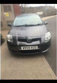2009 Toyota Auris TR VVTi, 1.6, 3 Door Hatchback, Manual, Petrol