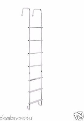 RV Universal Outdoor Ladder For Camper Trailer Motor Home Fit Any RV Maintenance