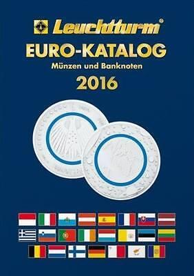 Leuchtturm Euro-Katalog Münzen und Banknoten 2016