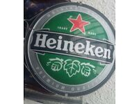 Heineken Bar Pub Sign