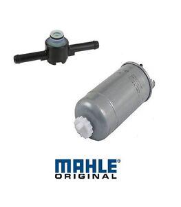 OEM Fuel Filter & Fuel Filter Return Valve KIT VW TDI 1.9L Diesel ALH BEW BHW