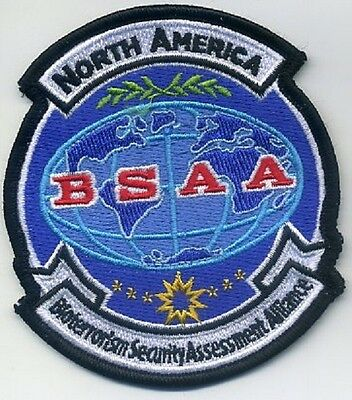 RESIDENT EVIL Bio-terrorism Security Assessment Alliance BSAA N. America Patch