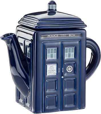 A TARDIS Teapot