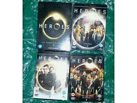 Heroes box sets, series 1, 2, 3, and, 4