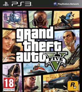 GTA 5 pour PS3 presque neuf