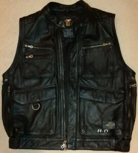 GENUINE HARLEY-DAVIDSON WILLY G LEATHER VEST
