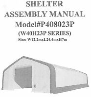 Looking for a contractor to repair a large storage tent