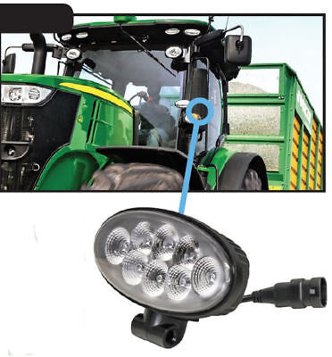 John Deere 5e-9rx Series Tractor Led Cab Fender Work Light 2758