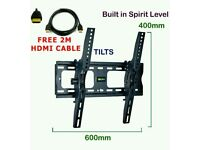 """BRANDNEW 37""""-70"""" Tilt TV WALL BRACKET WITH HDMI CABLE"""