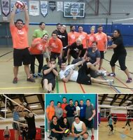 Play Co-ed, For-Fun, Adult Court Volleyball with RCSSC this Fall