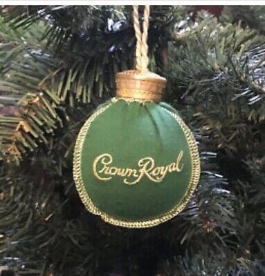 Crown Royal Apple Christmas ornament ()
