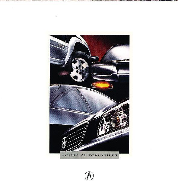 1996 Acura Full Line Sales Brochure TL NSX SLX Integra