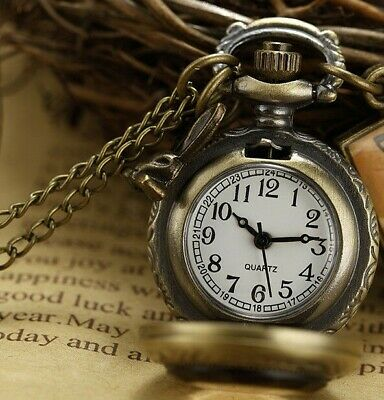 Pocket Watch Mechanical  Retro Chain Hand-winding Luxury Quartz Vintage Watch