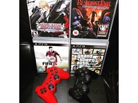 Ps3 bundle 4 games 2 controllers