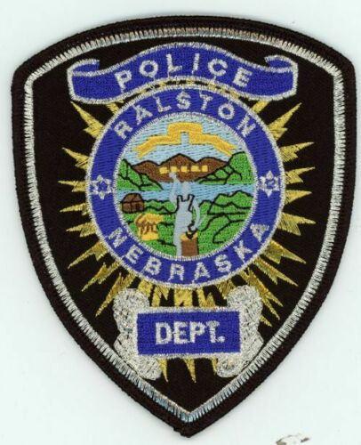 NEBRASKA NE RALSTON POLICE NEW PATCH SHERIFF