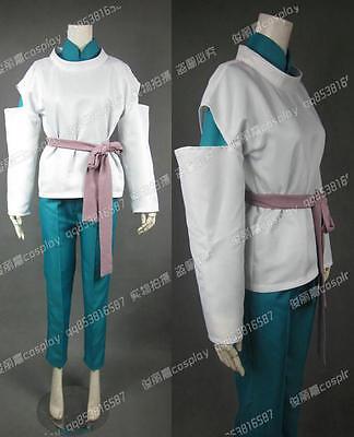 Spirited Away Nigihayami Kohakunushi Halloween Long Suit Set Cosplay Costume J00](Spirited Away Halloween Costume)
