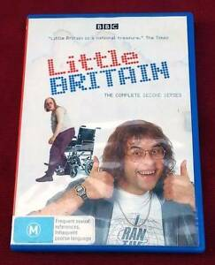 Comedy DVD - Little Britain - Series 2 Toowong Brisbane North West Preview