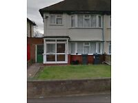*B.C.H: 3 BED HOME IN GREAT BARR, CRANTOCK ROAD **no deposit**