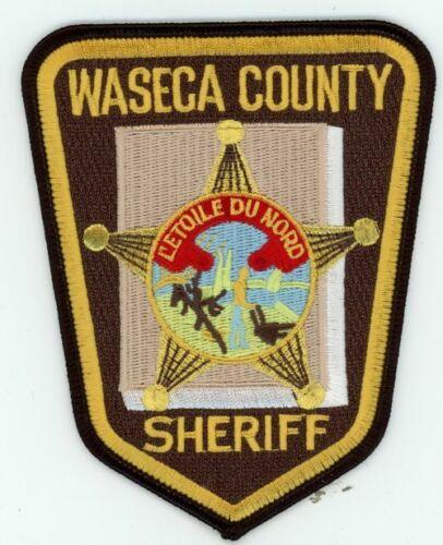 MINNESOTA MN WASECA COUNTY SHERIFF NEW PATCH POLICE