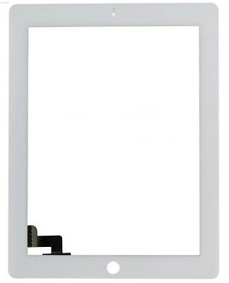 WHITE Touch Screen Glass Panel Digitizer Replacement for iPAD 2 on Rummage