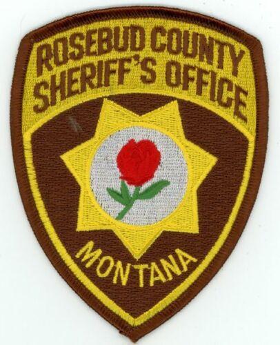ROSEBUD COUNTY SHERIFF MONTANA MT NEW PATCH POLICE