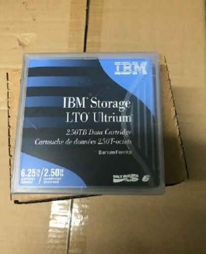 NEW- IBM LTO 6 Tape Cartridge 00V7590 (10 PACK) ULTRIUM 6 DATA - Factory Sealed