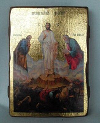 Handmade Copy Ancient Icon Orthodox Icon Transfiguration Of Jesus Christ 146M
