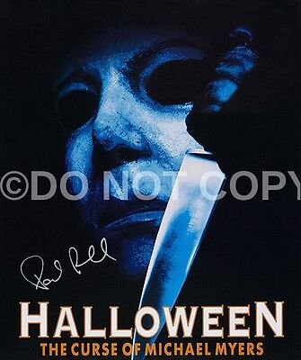 Paul Rudd Halloween Michael Myers Very Rare 8x10 Autographed Signed Reprint