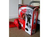 Virtually new boxing punch bag / free standing ball