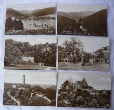 12 Episkop-Bildkarten - Thüringer Wald u. Fichtelgebirge - Jena - AK182-0619