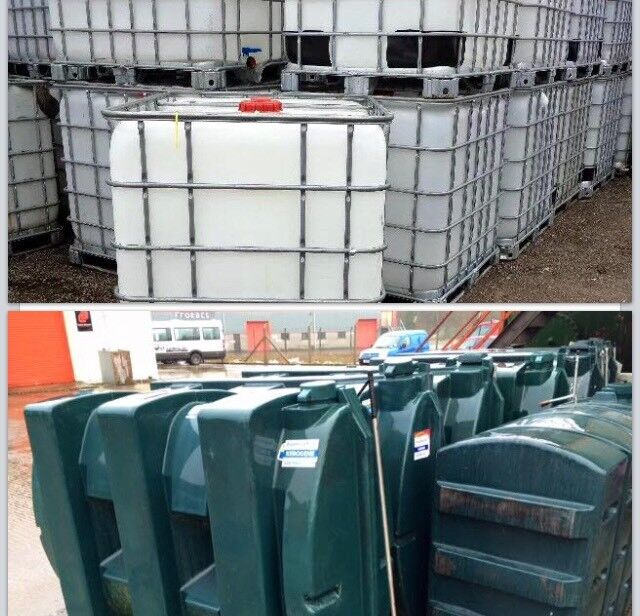 Oil tank ibc cubes (water storage )