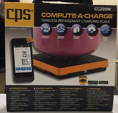 Cps Compute-a-charge Wireless Scale Cc220w