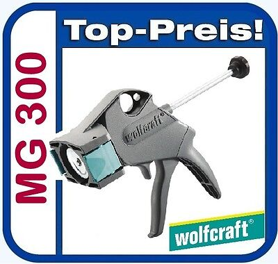 WOLFCRAFT 4355000 Kartuschenpresse MG 300 Silikonspritze