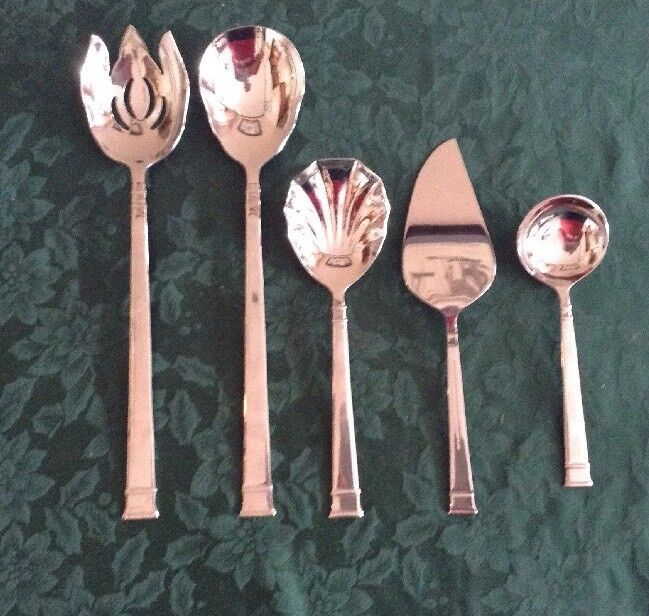 Heritage Mint bentley mixed lot of 5 serving pieces NM