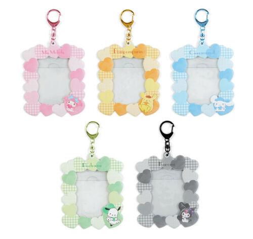My Melody Kuromi  Pachacco Photo Holder Frame Charm Keychain SANRIO Limited cute
