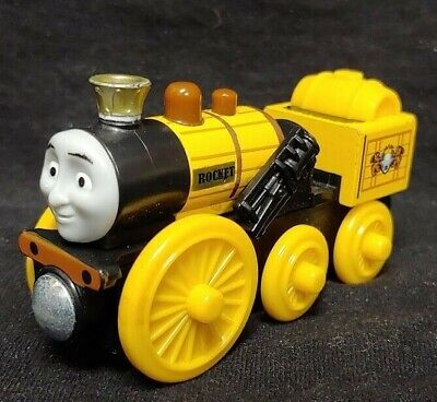 Thomas the Tank Engine Wooden Stephen The Rocket Steam Engine wood train 2012