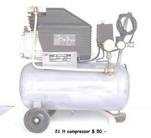 Good 2 HP Air Compressoer Inala Brisbane South West Preview