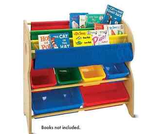 Book and toy organizer