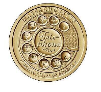 1 Dollar USA 2020 P Massachusetts - American Innovation Dollar